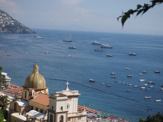 Positano Harbor, Amalfi Coast, 2013
