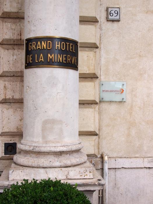 Grand Hotel de la Minerva, Rome, 2013