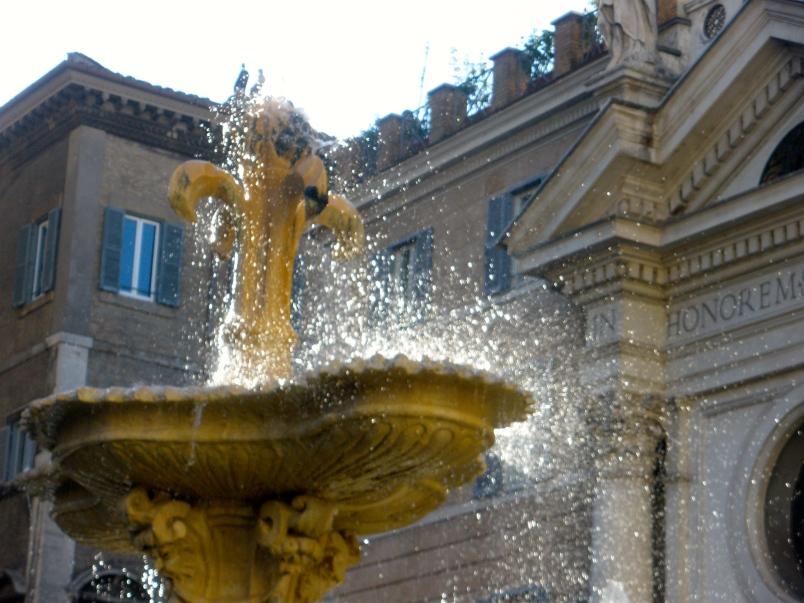 Piazza Farnese Fountain