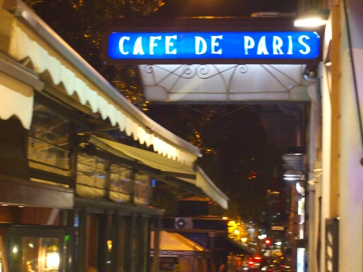 Cafe de Paris, Rome, 2013