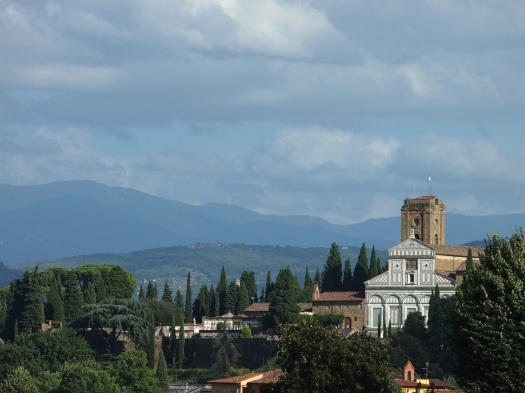 View of San Miniato From Boboli Gardens, Florence, 2013