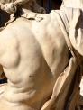 Detail, Fontana dei Quattro Fiumi, Piazza Navona