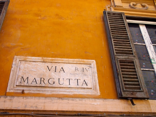 Via Margutta, Rome, 2012
