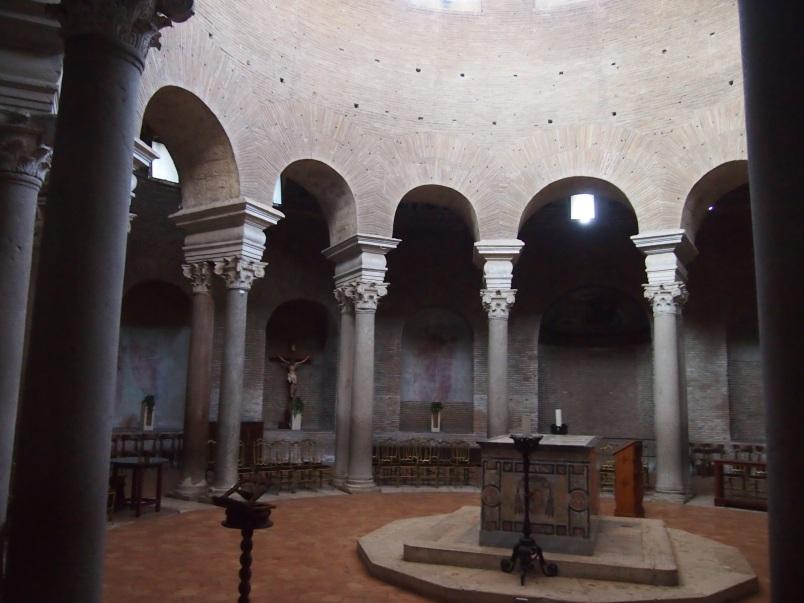 Mausoleo di Santa Costanza, Rome, 2012