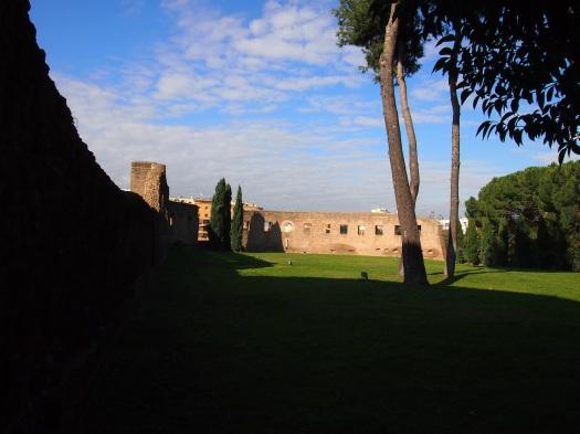 Catacombs near Sant'Agnese fuori le Mura