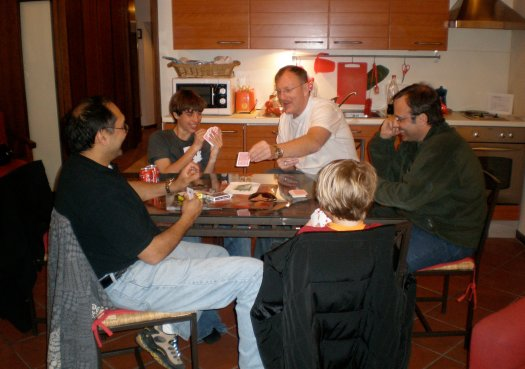 Playing Cards, Rome, 2008