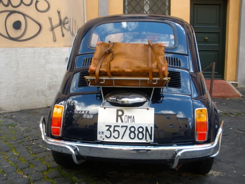 Cinquecento, Trestevere, Rome, 2012