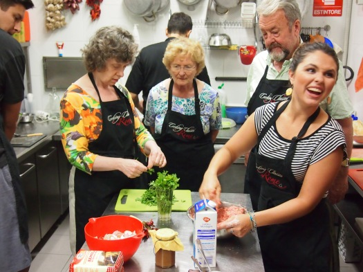 Cooking Classes in Rome, 2013