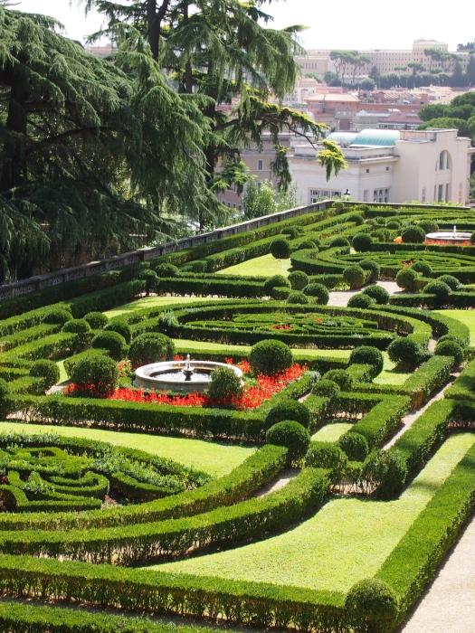 Italianate Garden, Vatican Garden, Rome 2013