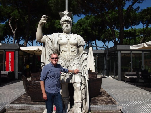 Statue from Movie Gladiator, Cinecitta', Rome 2013