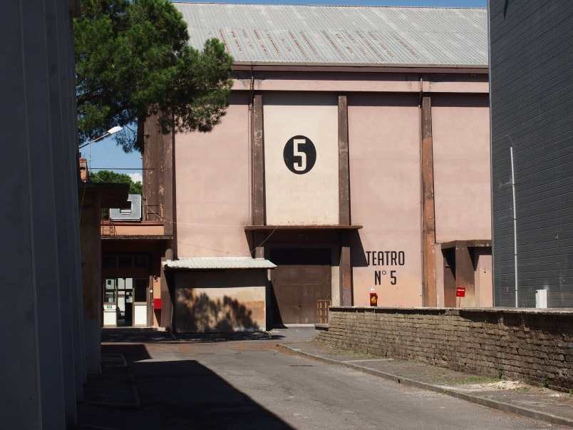 Stage 5, Cinecitta', Rome, 2013