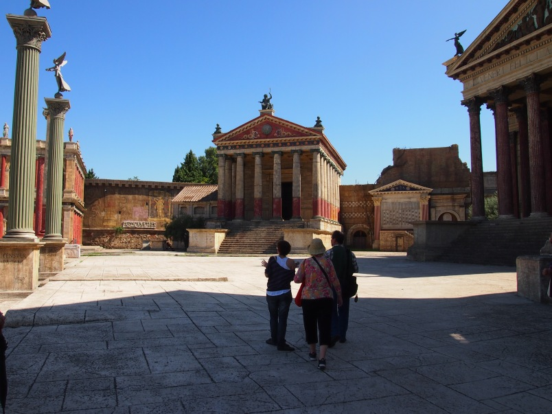 Cinecitta', Set of HBO Series Rome, 2013
