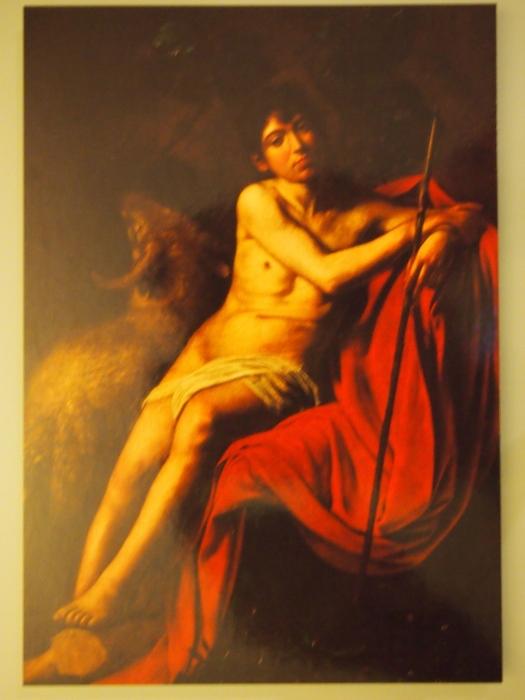Caravaggio, San Giovanni Battista, Galleria Borghese