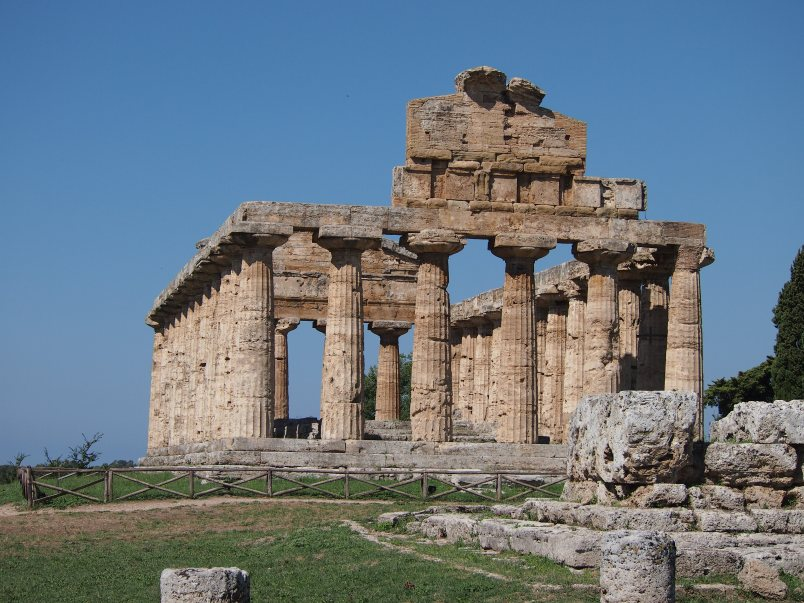 Temple of Neptune, Paestum, Italy, 2013
