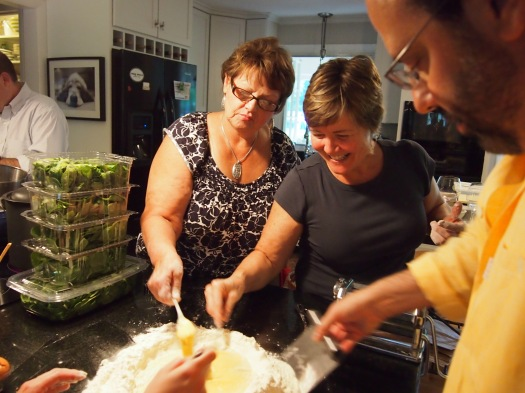 Making Pasta, 2013