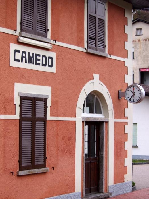 Camedo Station, Centovalli Railway, Italy, 2012